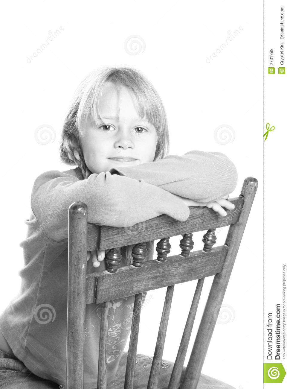 Black child sitting in chair - Royalty Free Stock Photo Download Child Sitting In Chair