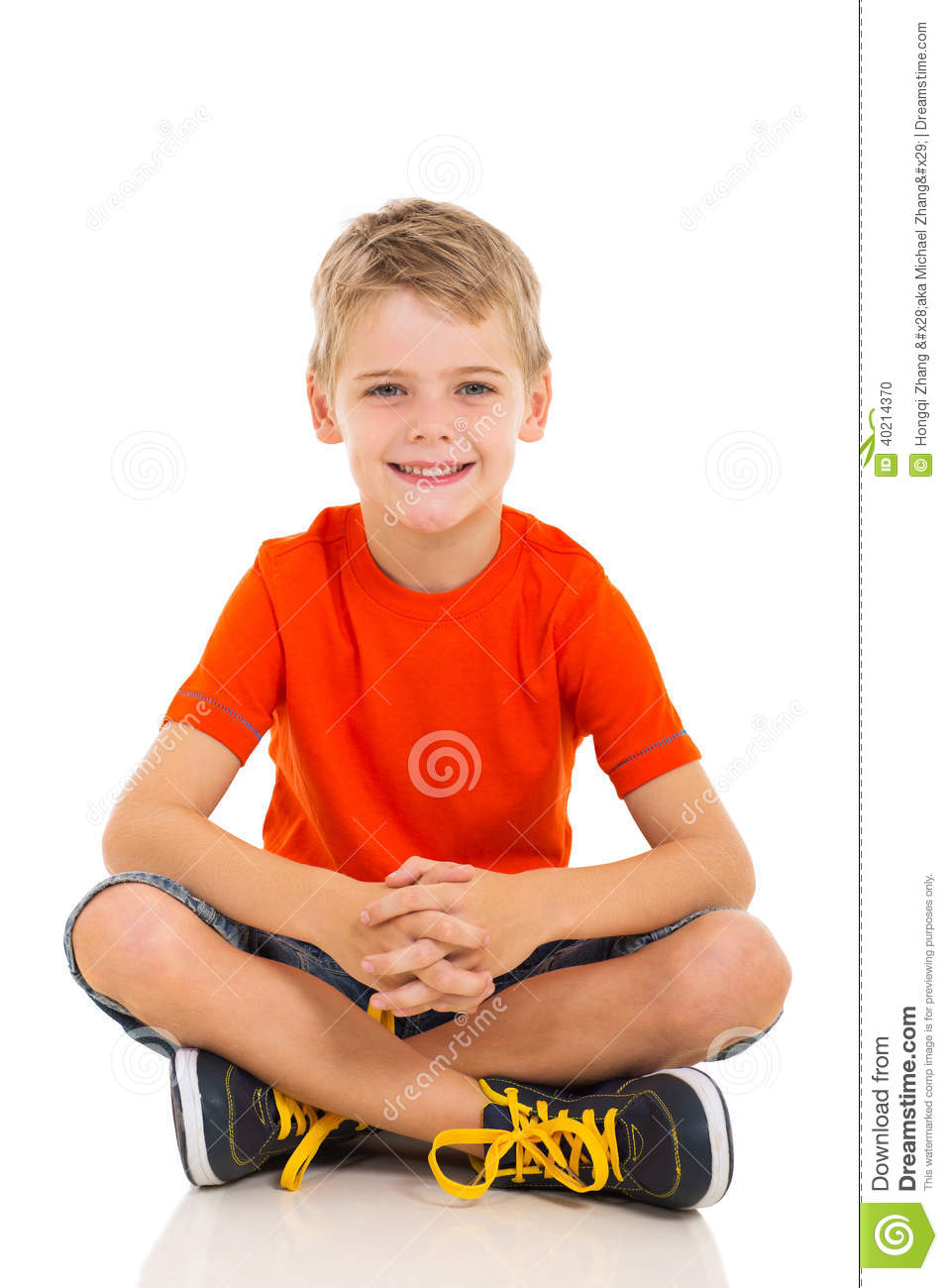 Child sitting floor stock photo image 40214370 for On the floor