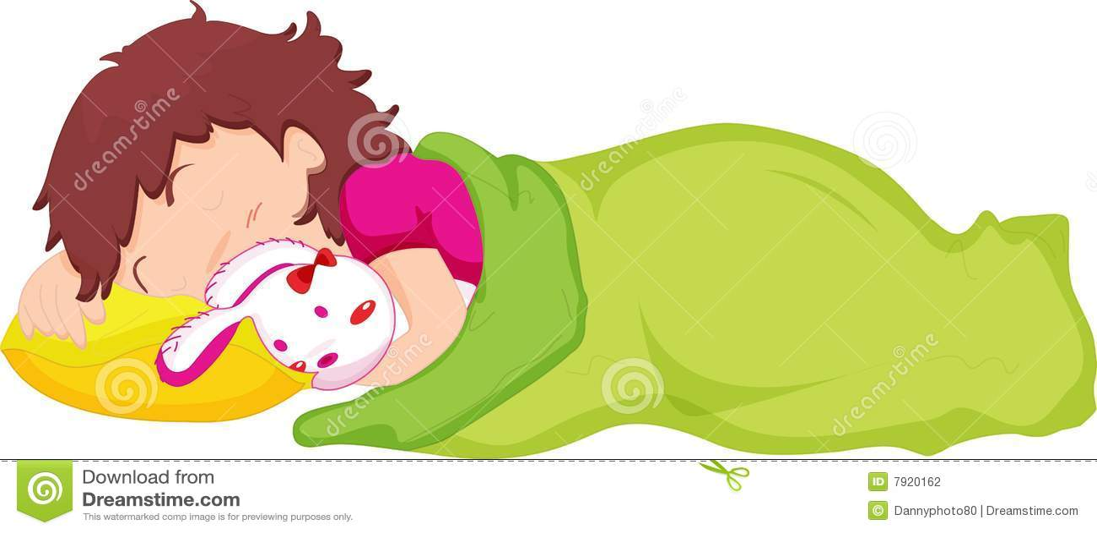 Child sleeping stock illustration. Illustration of drawing ...