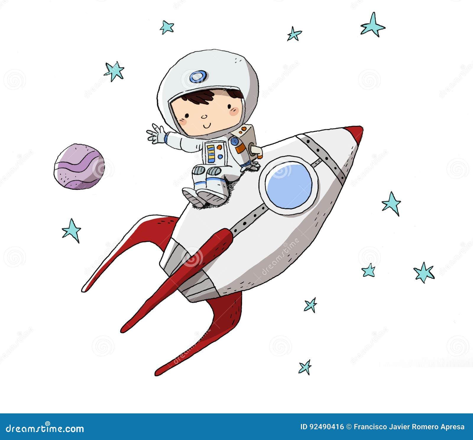 rocket space suit illustrations - photo #4