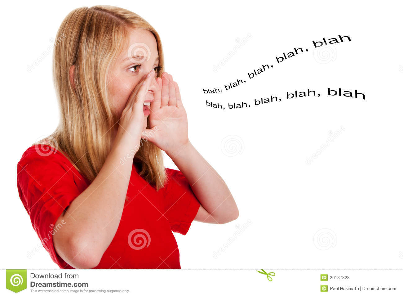 Child speaking out loud stock photo. Image of talking ...