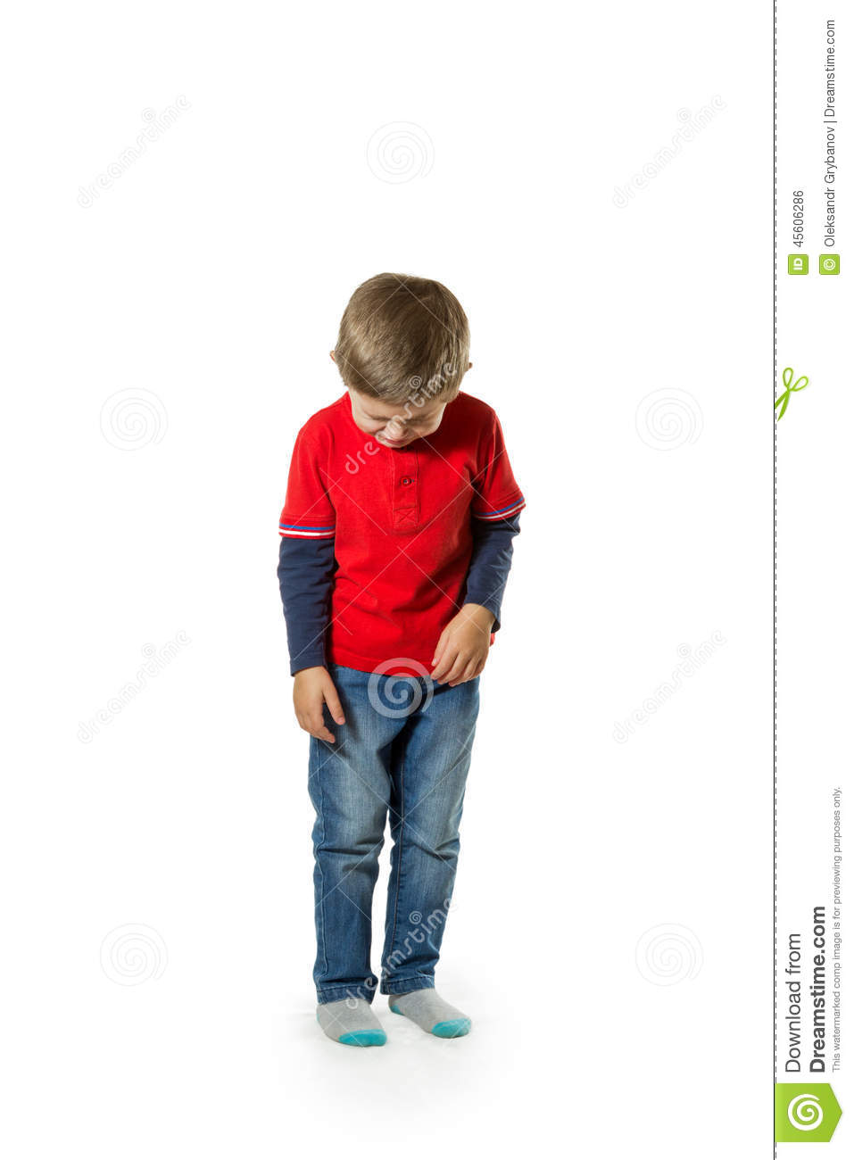 child standing crying stock photo image of life posing