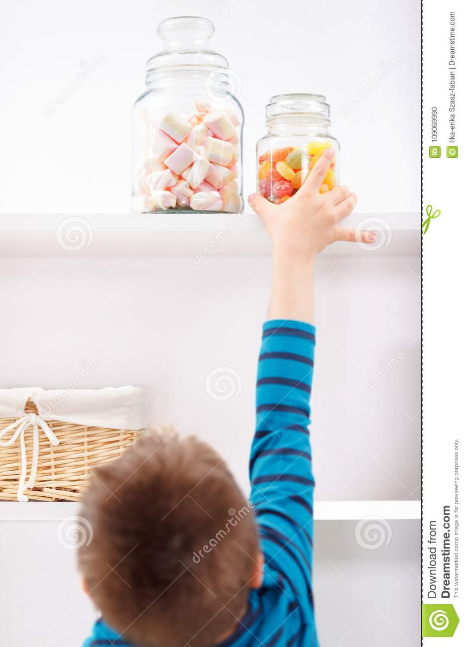 Candy Shelf Stock Photos - Royalty Free Pictures
