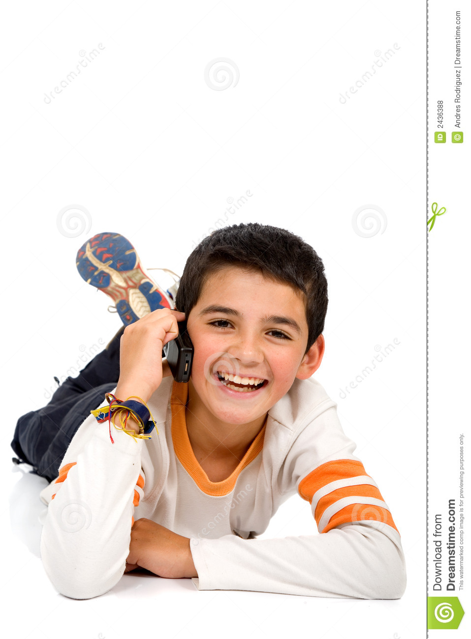 Child Talking On The Phone Royalty Free Stock Photos ...