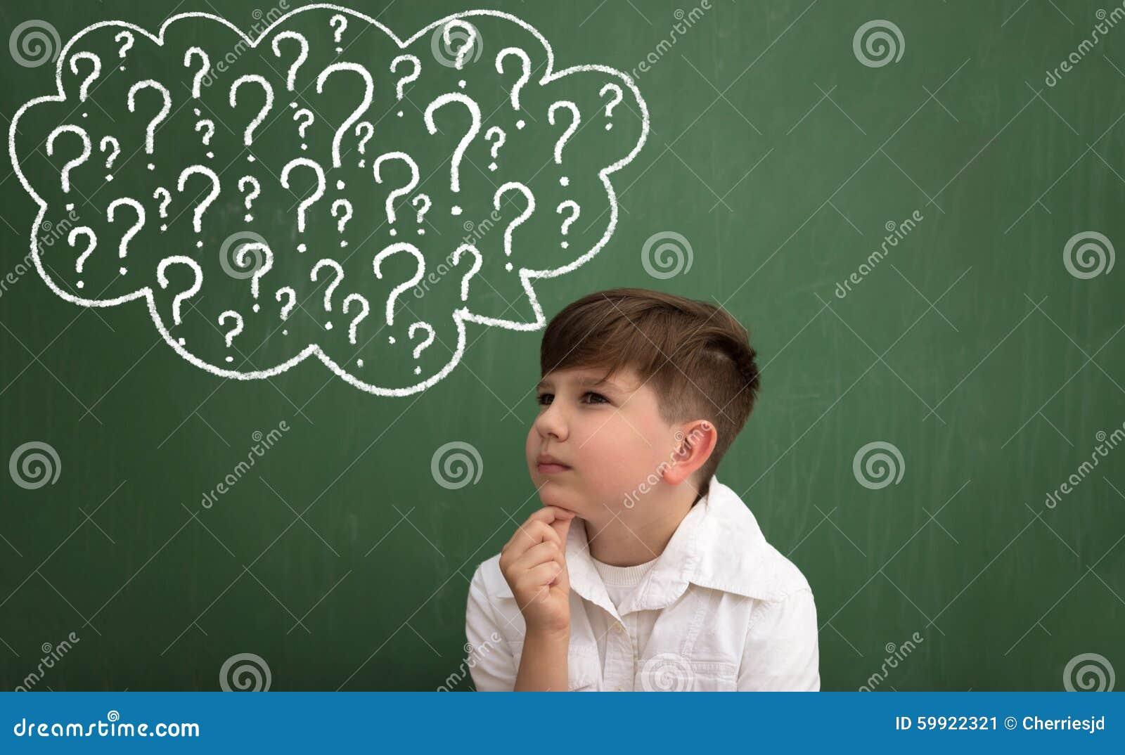 Kid think bubble