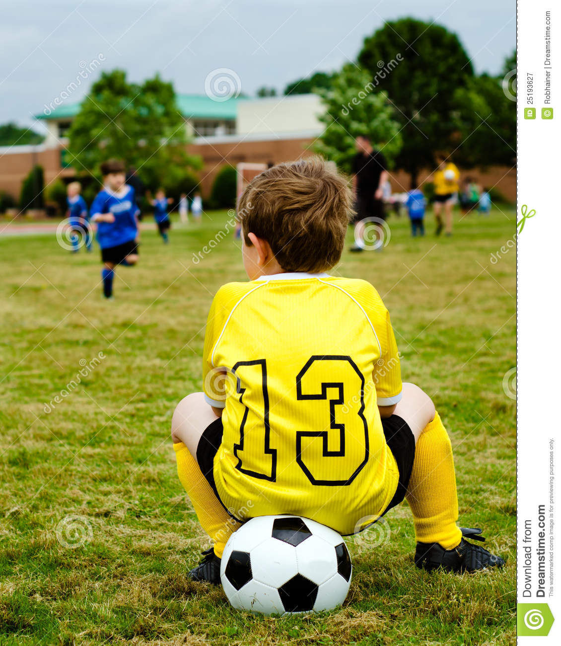 how to train a young soccer goalie