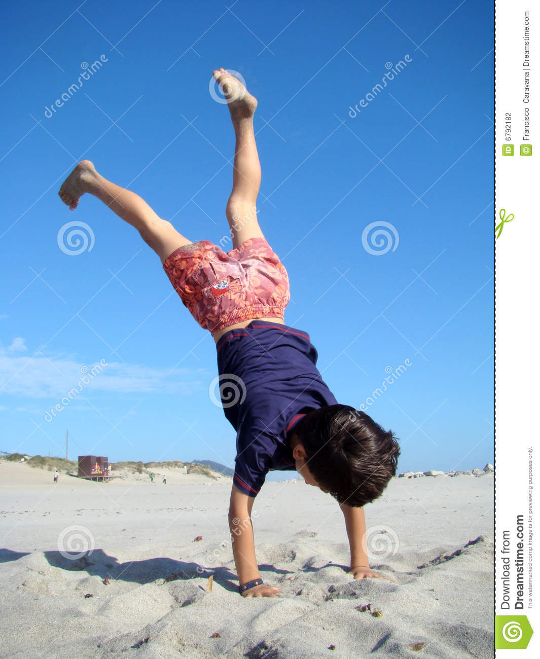 Child Upside Down Stock Photography - Image: 6792182
