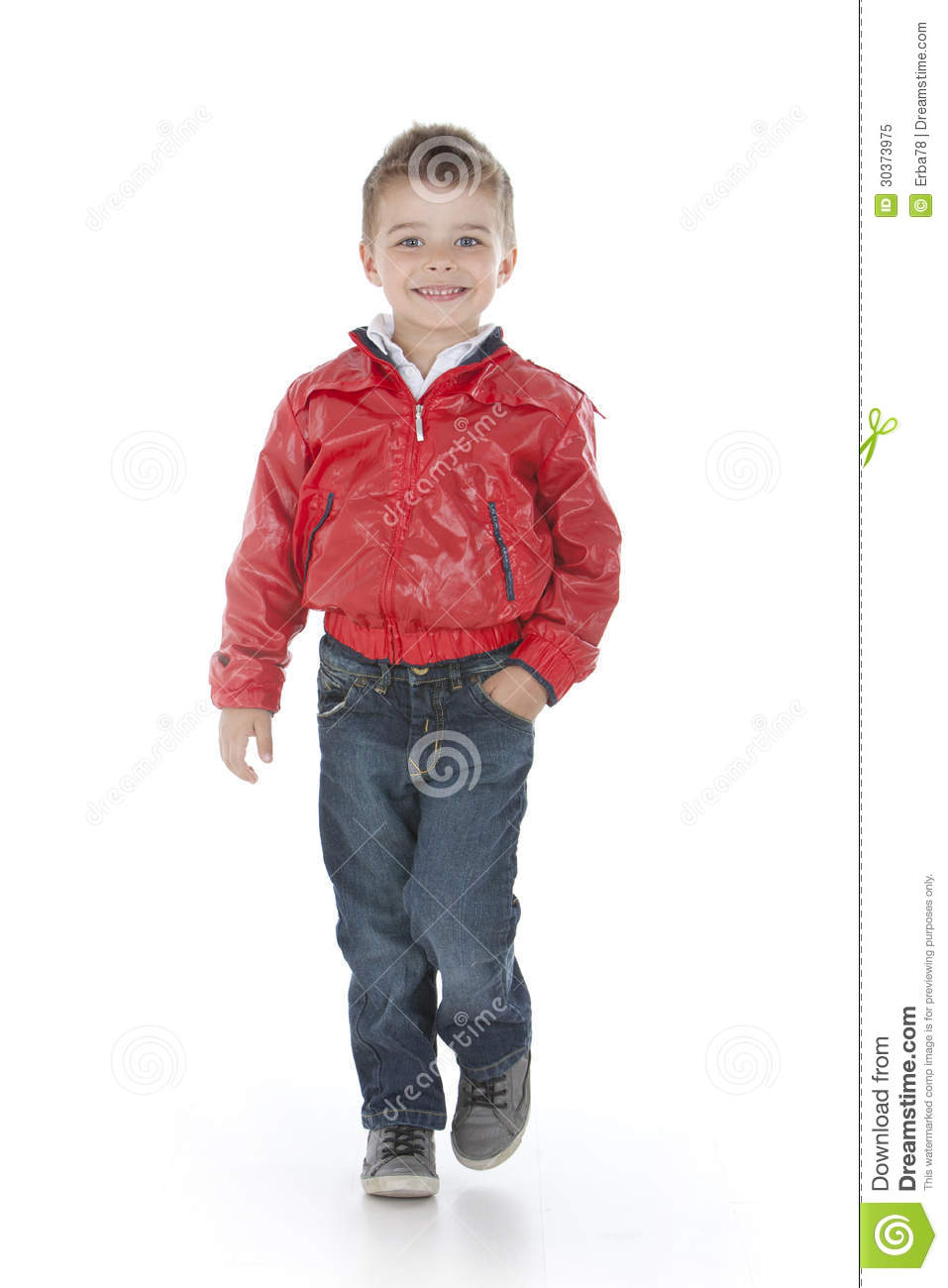 Child Walks Royalty Free Stock Photo - Image: 30373975