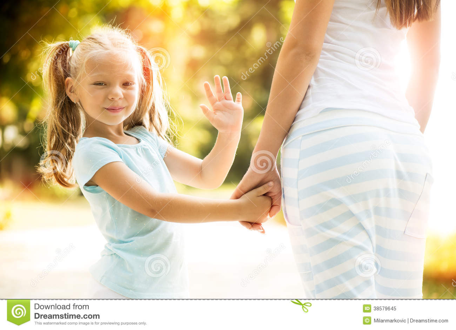Child Waving Royalty Free Stock Photo - Image: 38579645