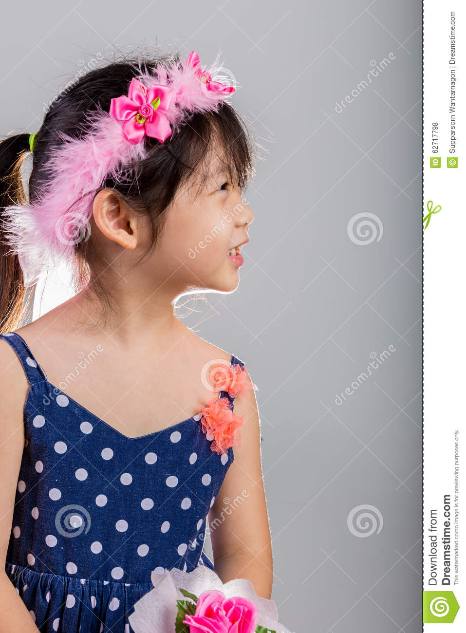 Child wearing flower crown young girl with flower crown stock child wearing flower crown young girl with flower crown izmirmasajfo Gallery