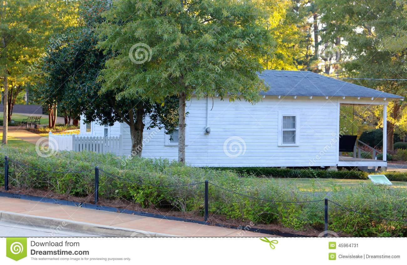 Childhood Home Of Elvis Presley Stock Photo - Image: 45964731