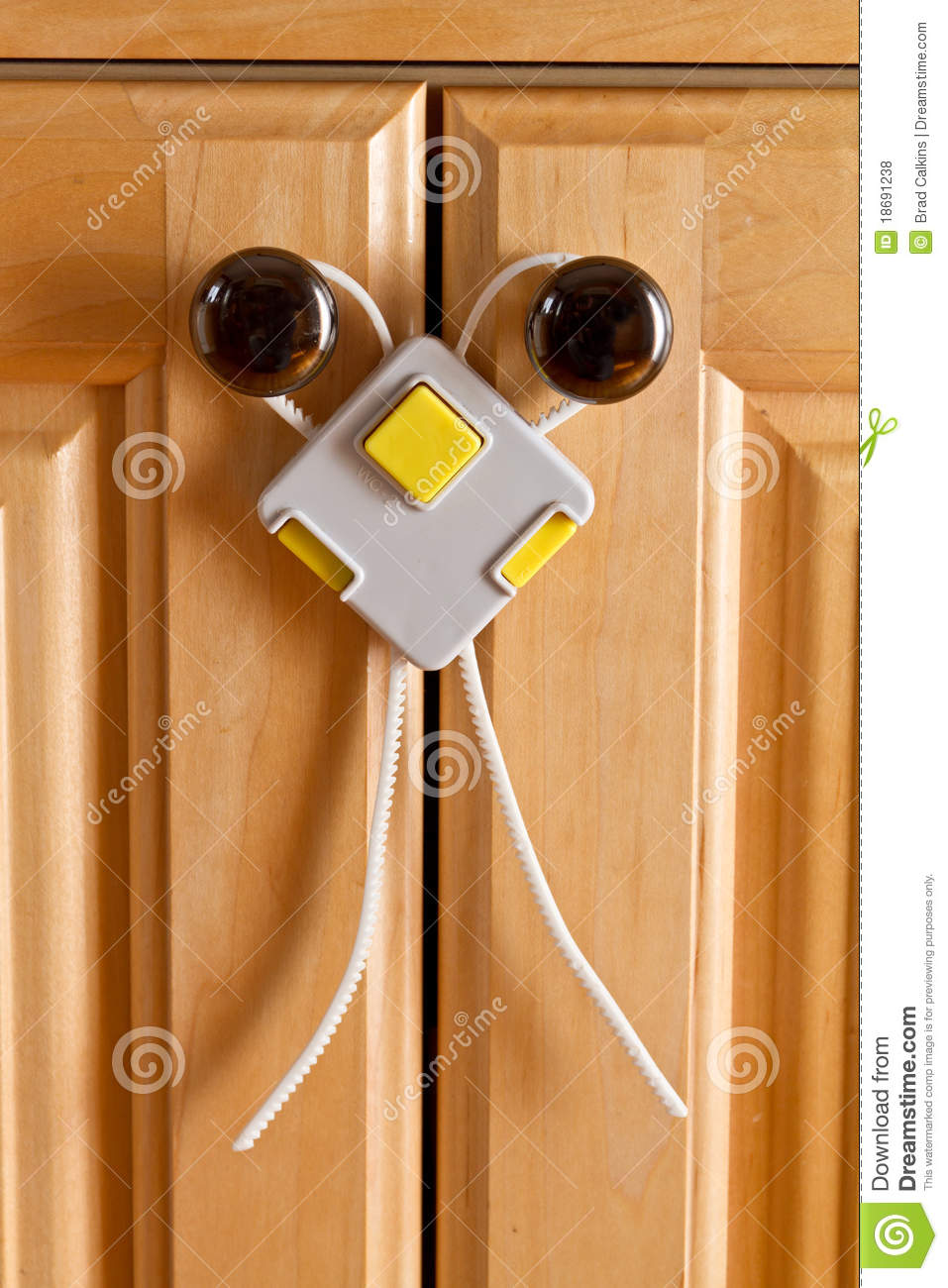 Child proof locks for doors - Childproof Lock Royalty Free Stock Photos Image 18691238