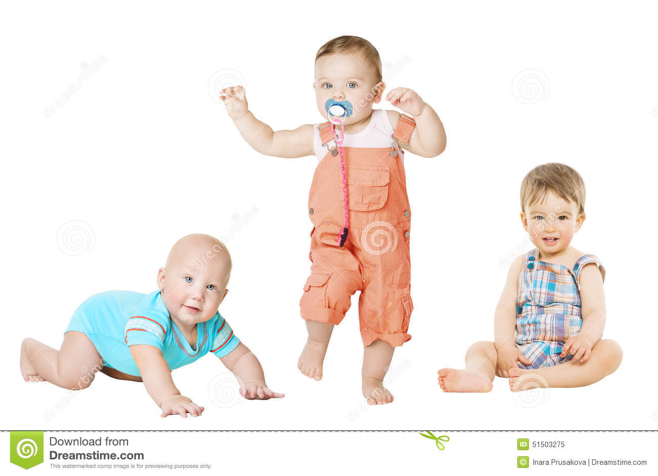 Stock Photo Children Active Growth Portrait Little Kids Baby Activity Months To Year Old Crawling Sitting Standing Boy Image51503275 on Months Of The Year Clipart