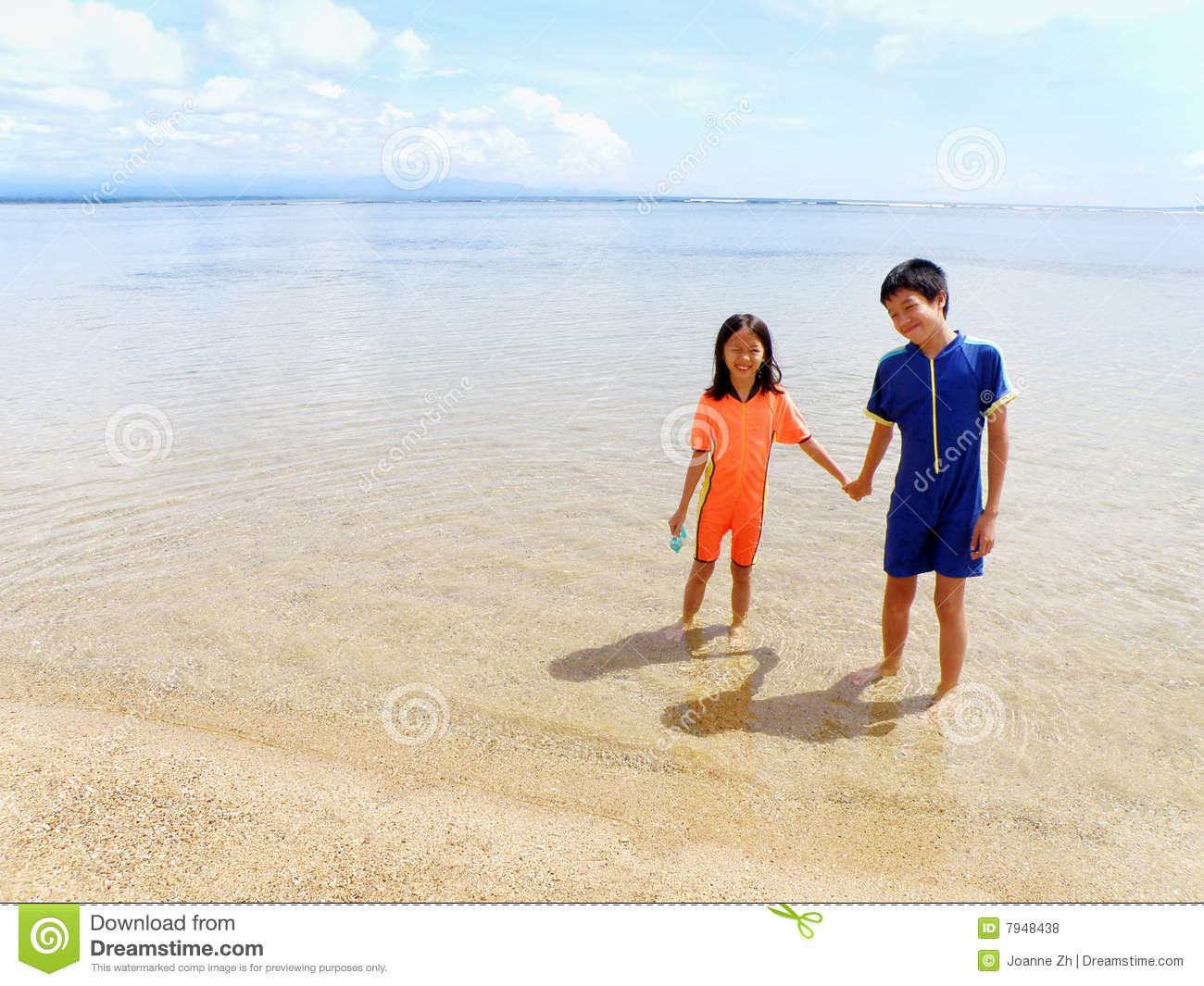 children at the beach royalty free stock photos image kids holding hands clipart black and white Holding Hands Silhouette