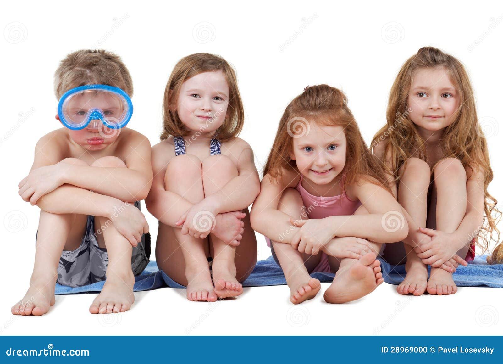 Три девушки и один парень