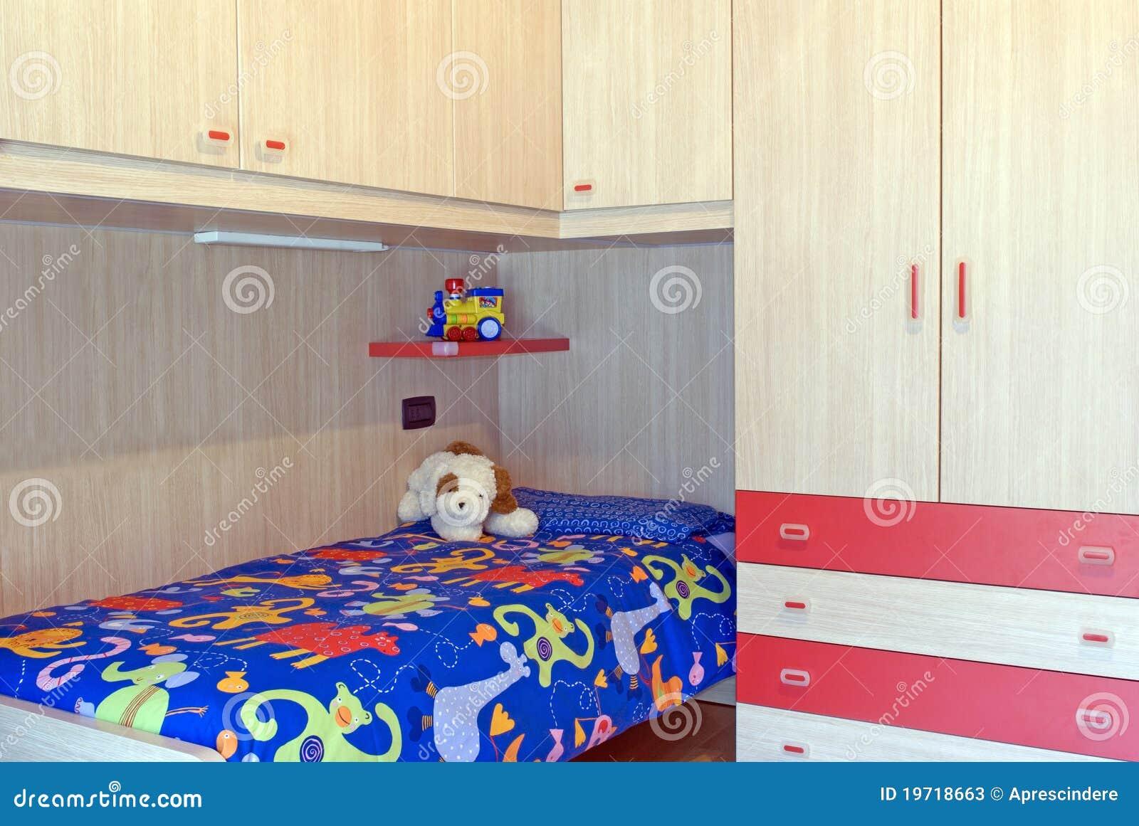 Children Bedroom Stock Image Image Of Youth Child Children 19718663