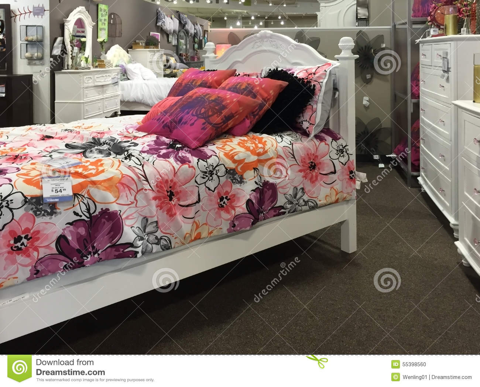 Selling Bedroom Furniture Children Bedroom Furniture Selling Editorial Image Image 55398560
