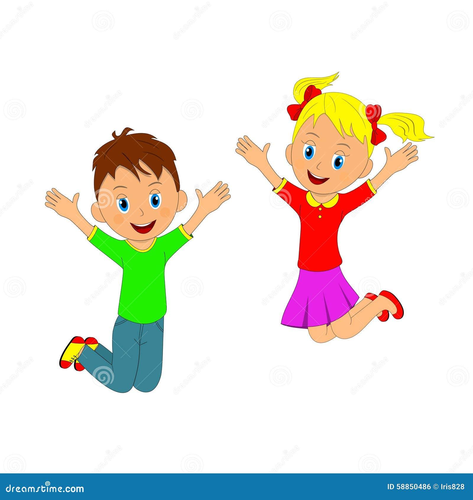 Картинка танцуют дети