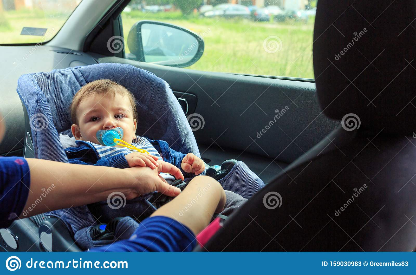 Children Car Chair Baby Car Seat For Safety Boy In The Child