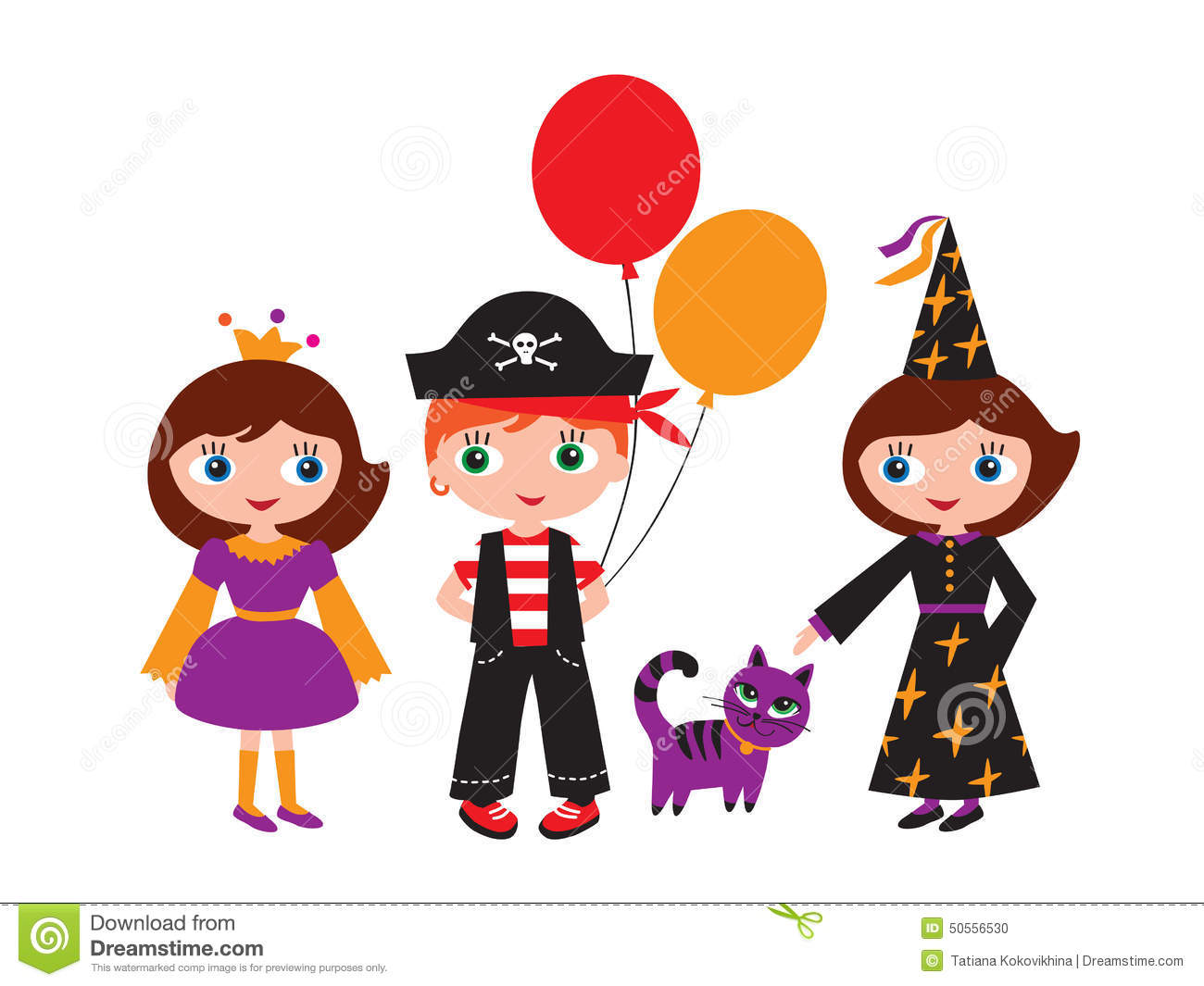 children in carnival costumes stock vector image 50556530 clip art witches broom clip art witches dangling feet