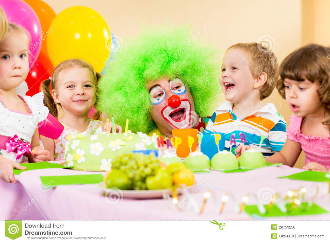 how to become a clown for parties