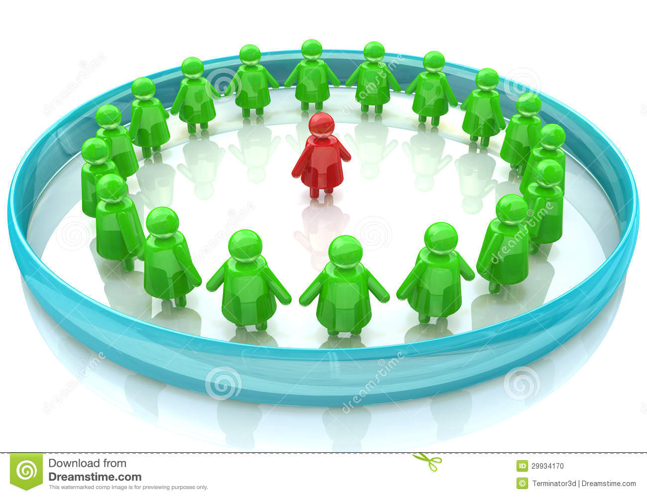 Children In A Circle Stock Photo - Image: 29934170