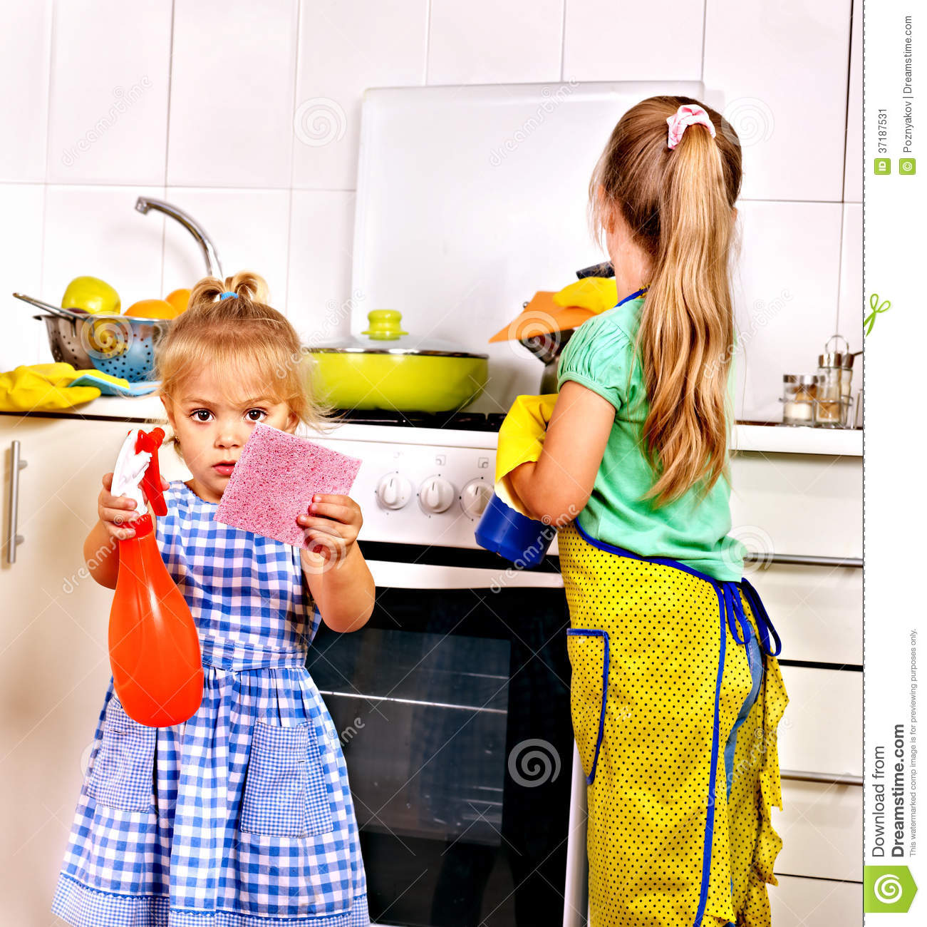 children cleaning - photo #41