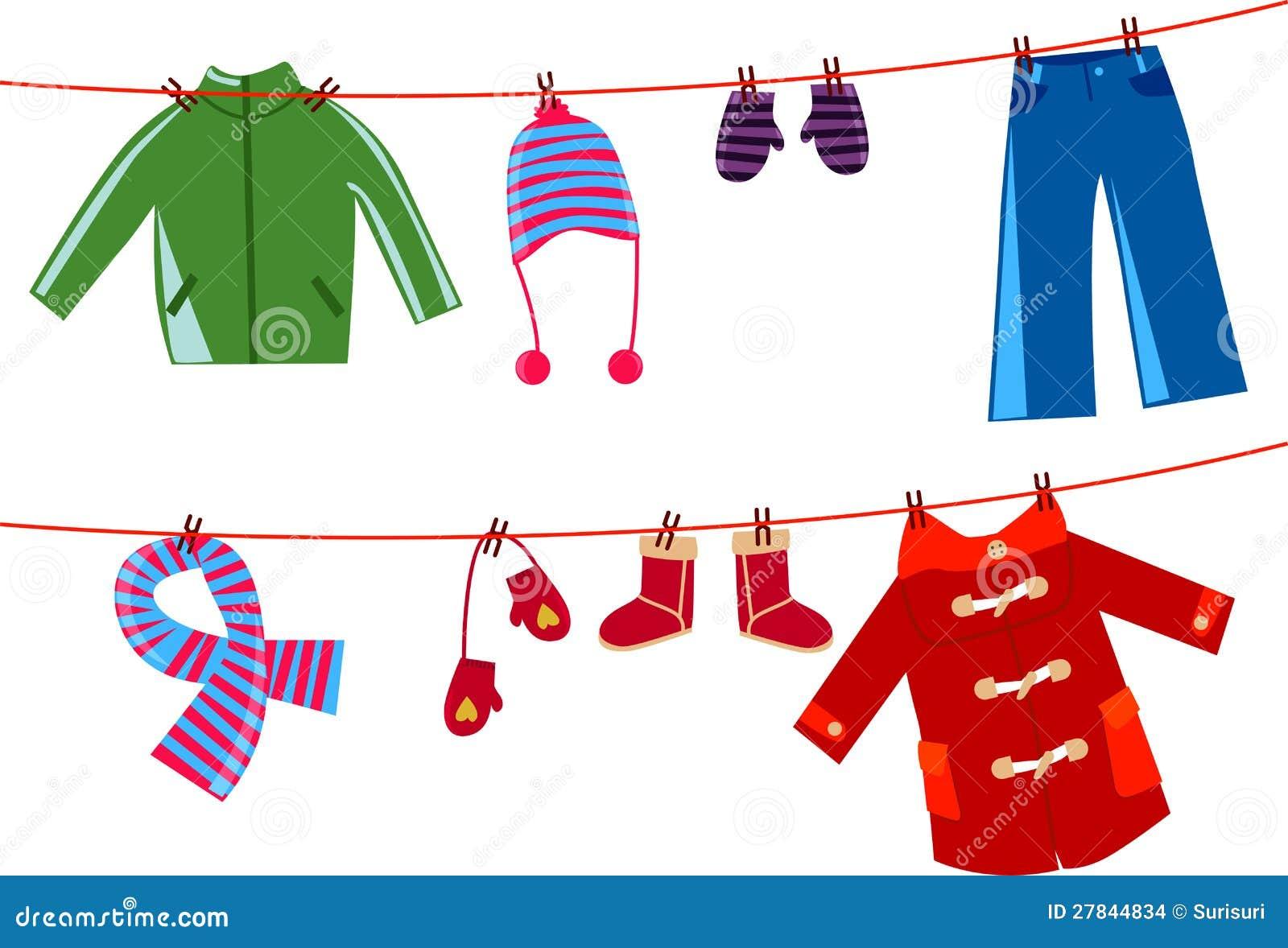 Clothes Line Clip Art ~ Children clothesline stock images image