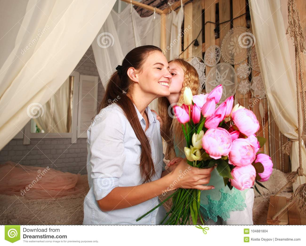 It's okay to give mother only flowers for your birthday 46