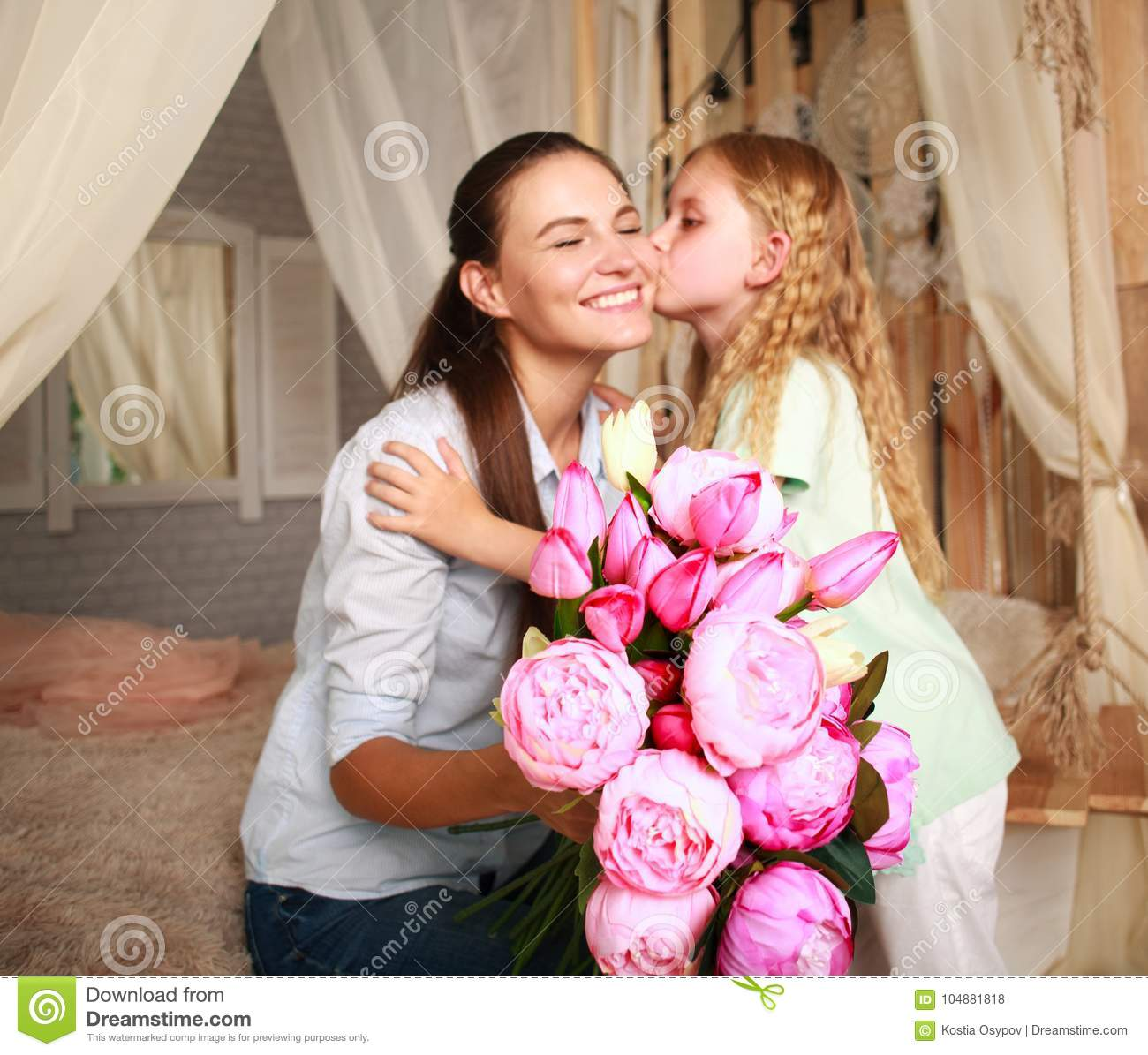It's okay to give mother only flowers for your birthday 39