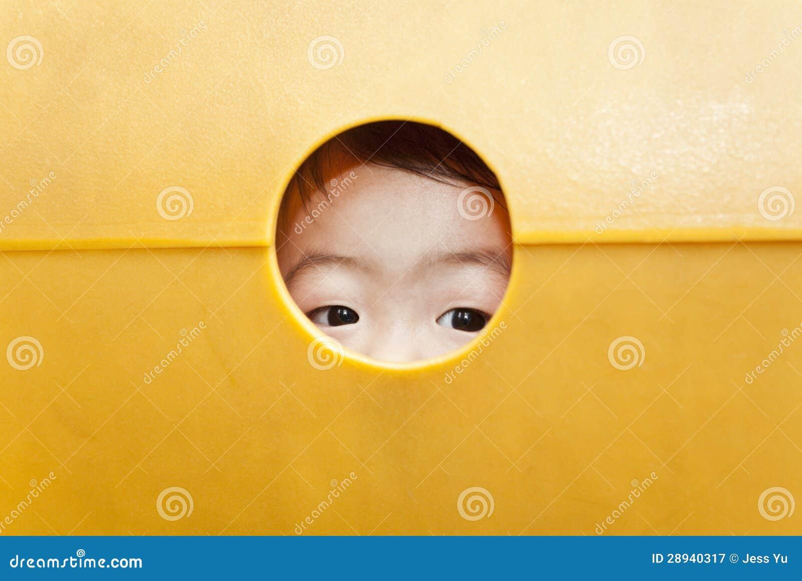 Children curious eyes