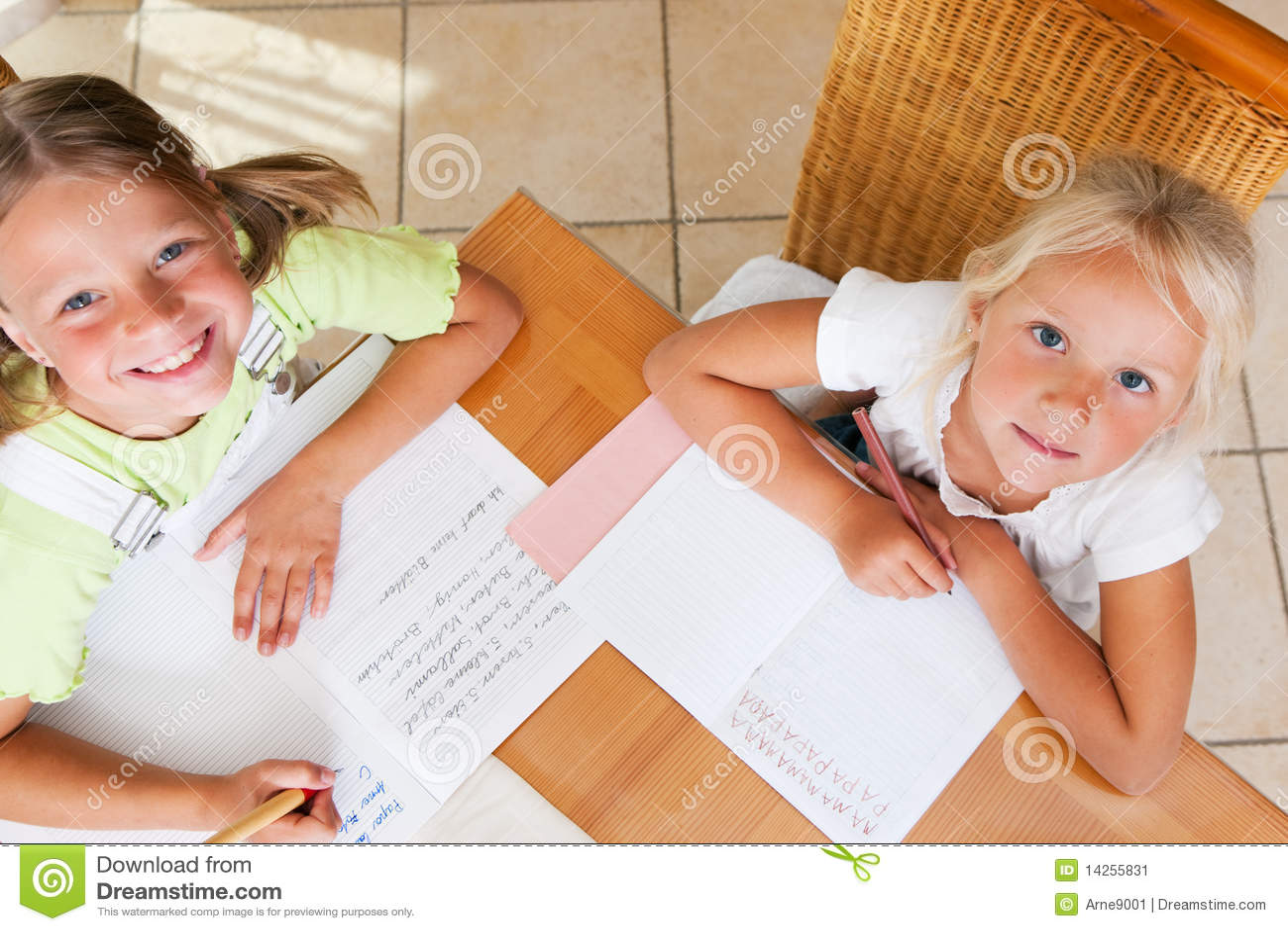 School homework for kids