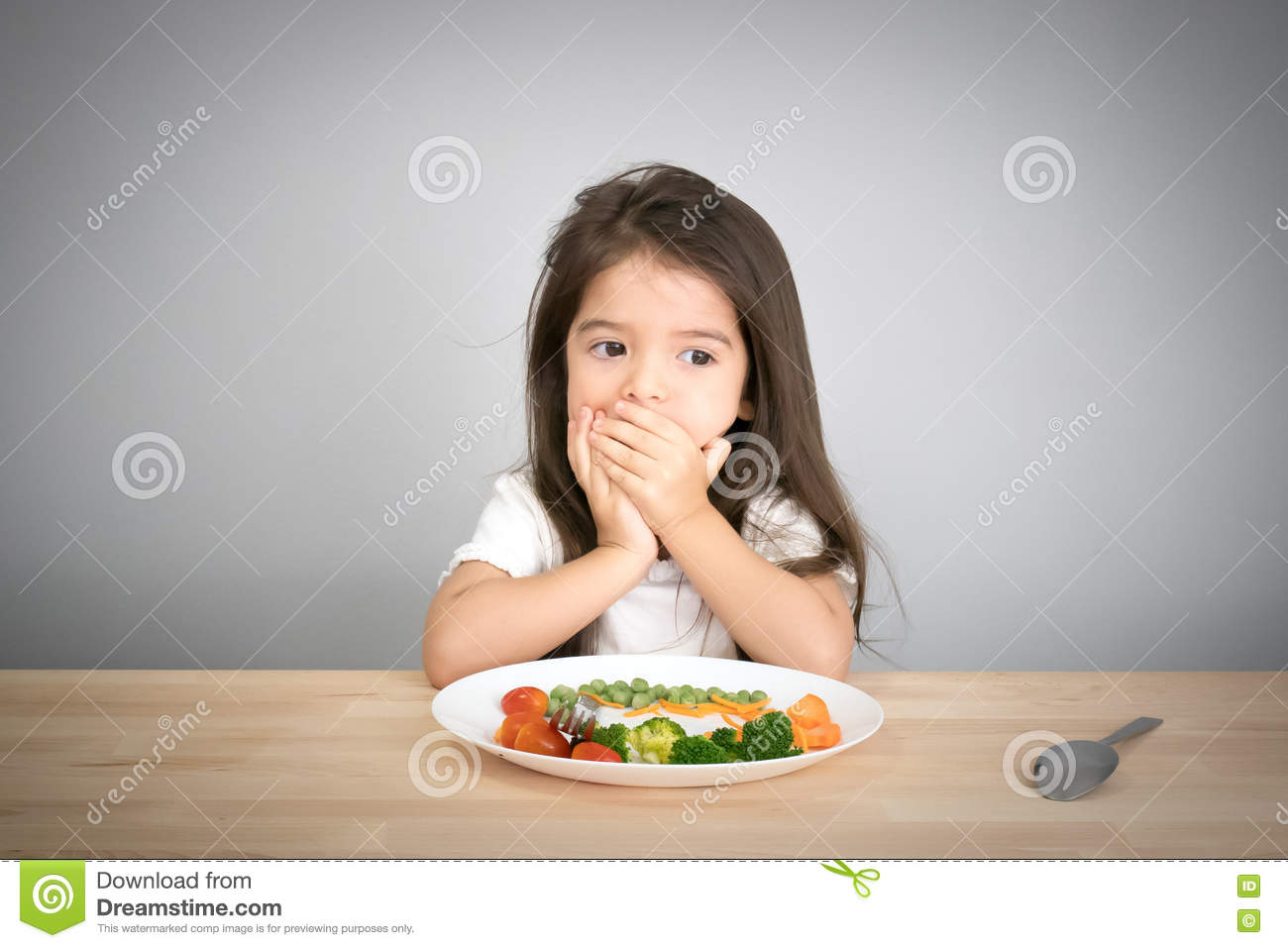 Children don t want to eat vegetables