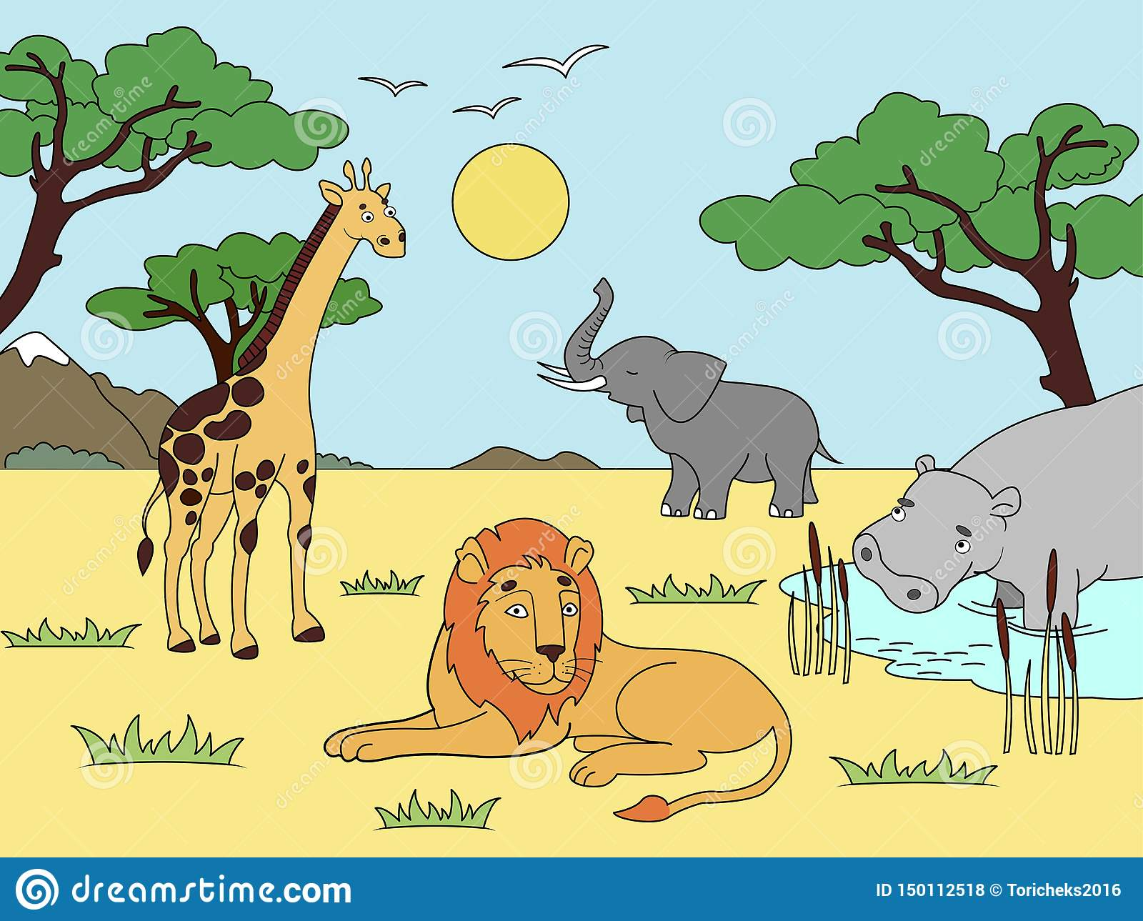 Children Drawing Zoo Stock Illustrations 16 212 Children Drawing Zoo Stock Illustrations Vectors Clipart Dreamstime