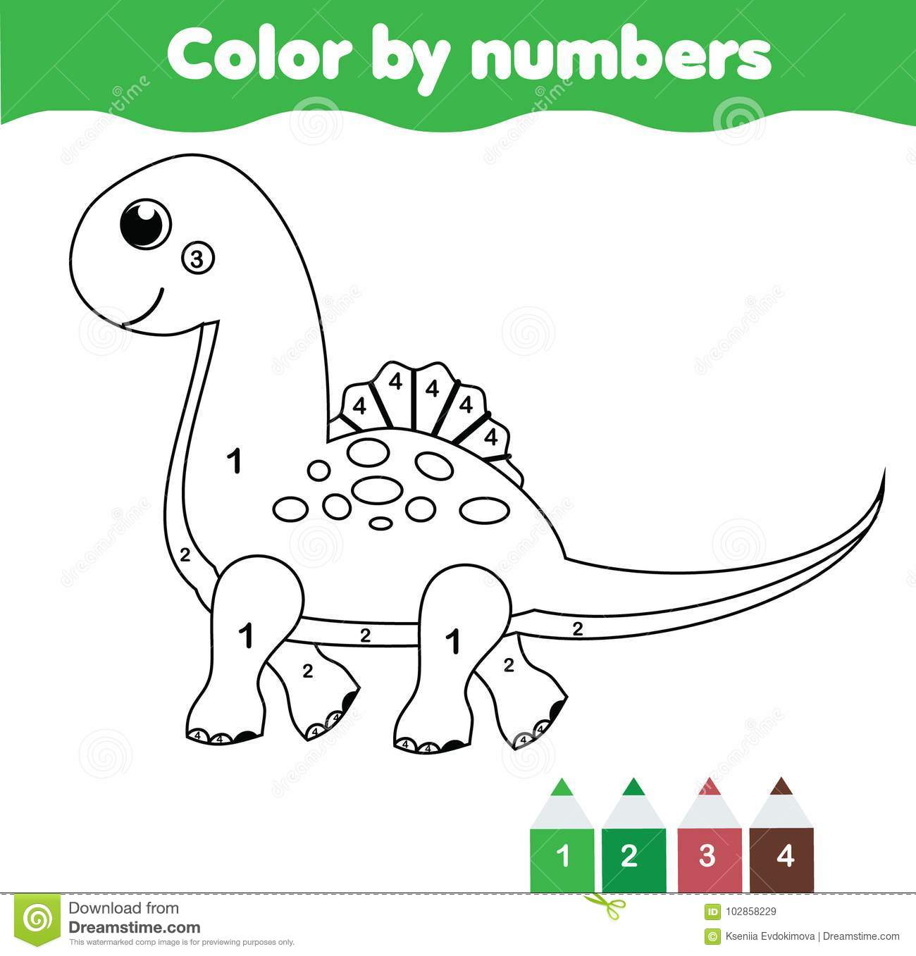 Children Educational Game Coloring