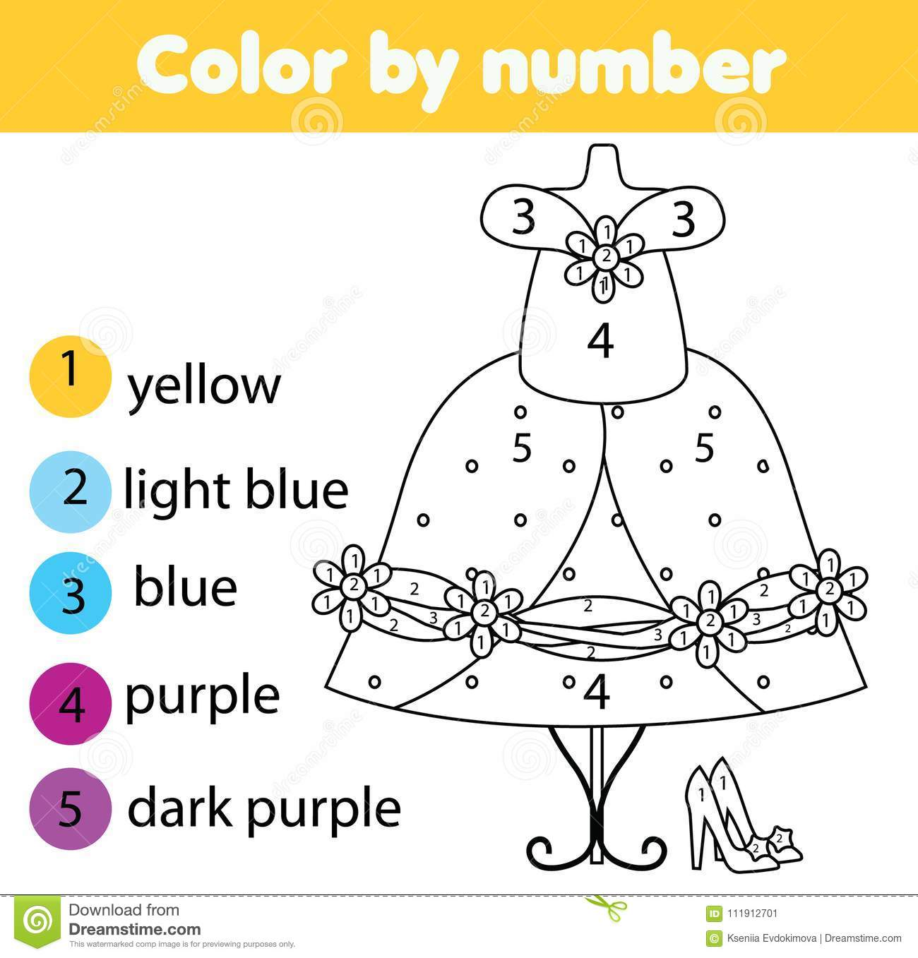 Strapless Long Prom Dress coloring page | Free Printable Coloring ... | 1357x1300