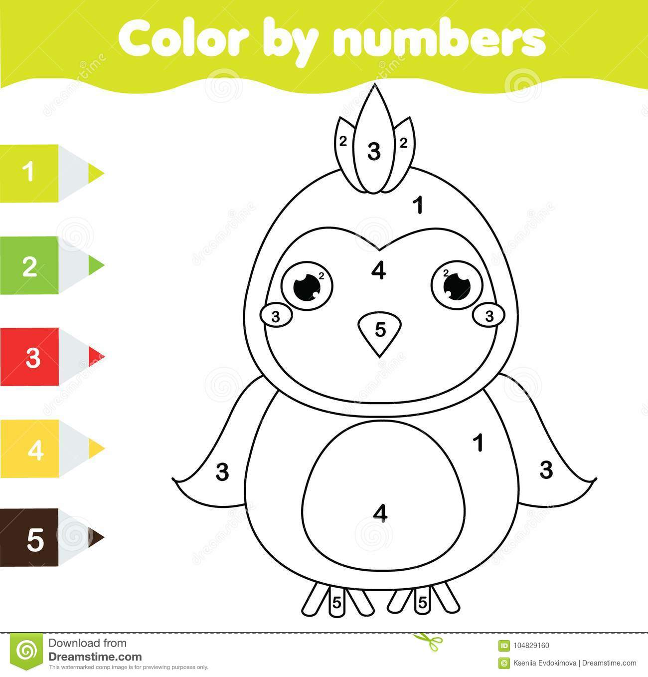 graphic regarding Printable Activities for Toddlers identified as Youngsters Enlightening Activity. Coloring Webpage With Parrot. Shade