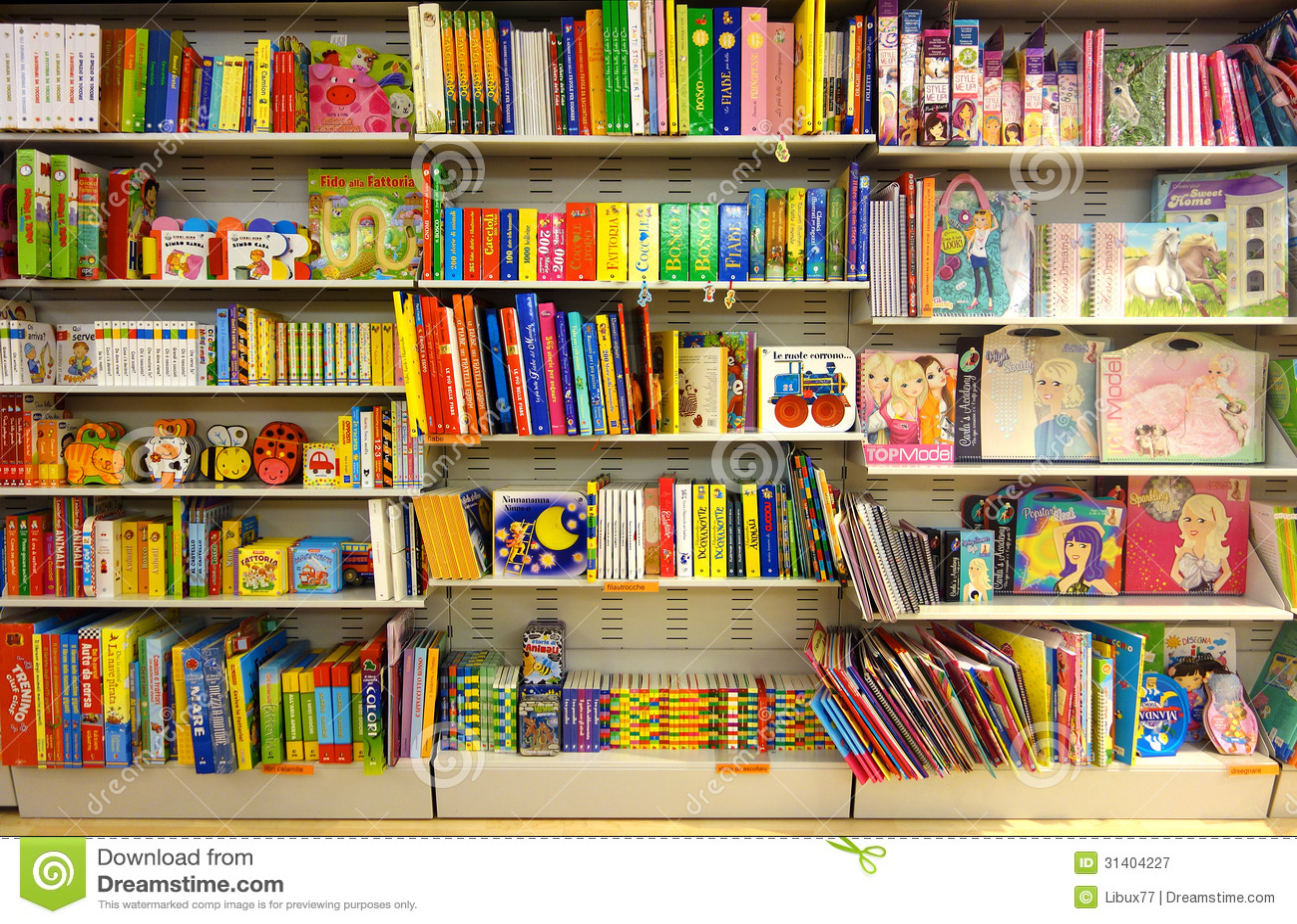 Children Fairy Books At Bookshop Editorial Photography ...