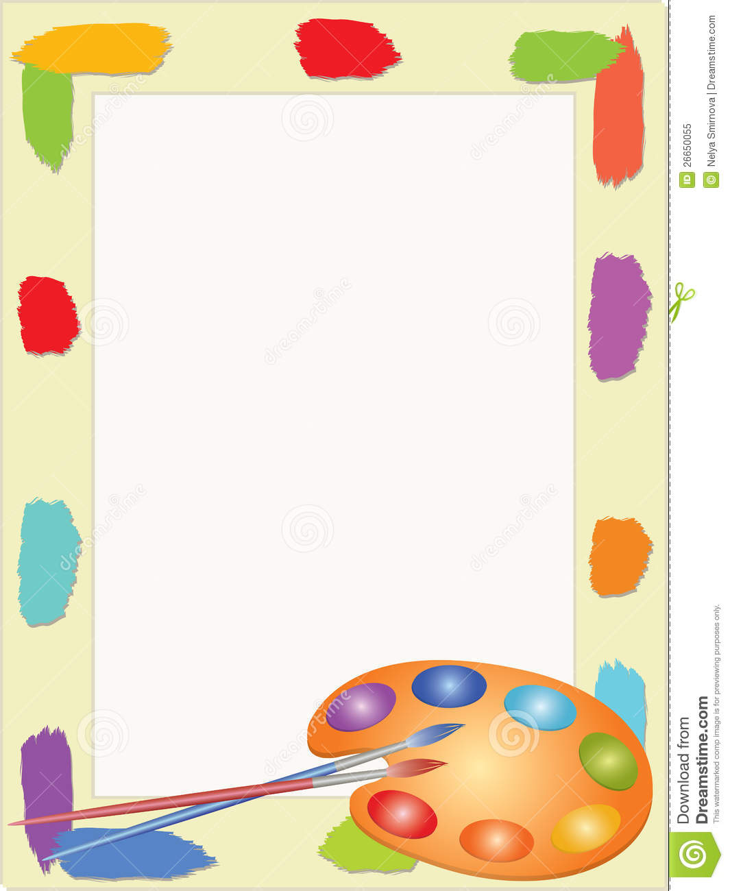 children frame with palette royalty free stock photo school kids clip art welcome school kids clipart birthday border