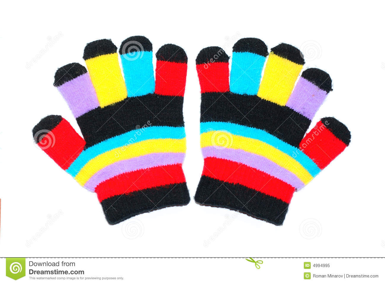 Children Gloves Royalty Free Stock Photo - Image: 4994995