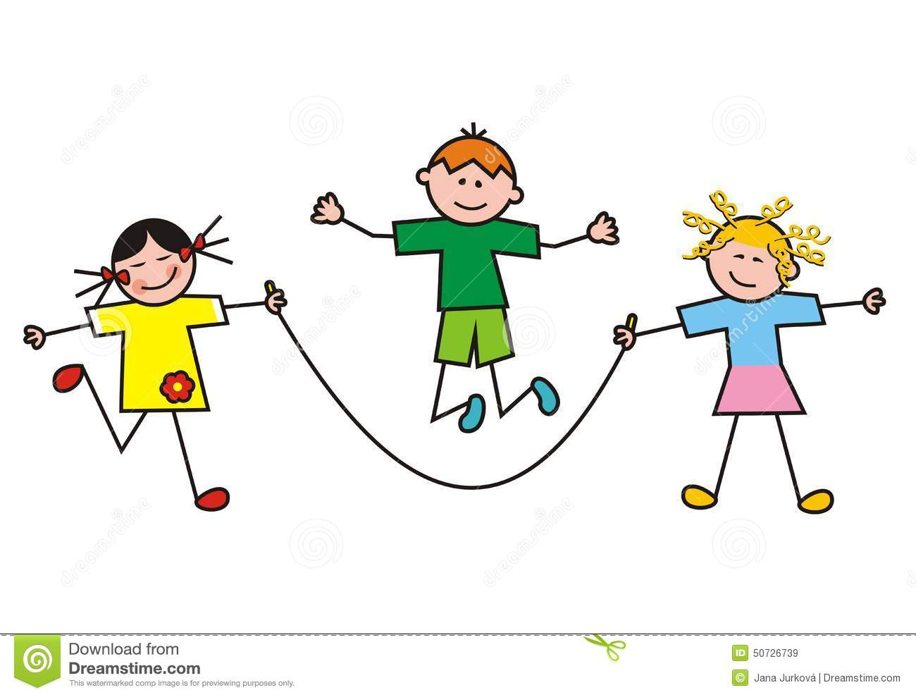 Children Group Sport Stock Vector Illustration Of Outfit 50726739