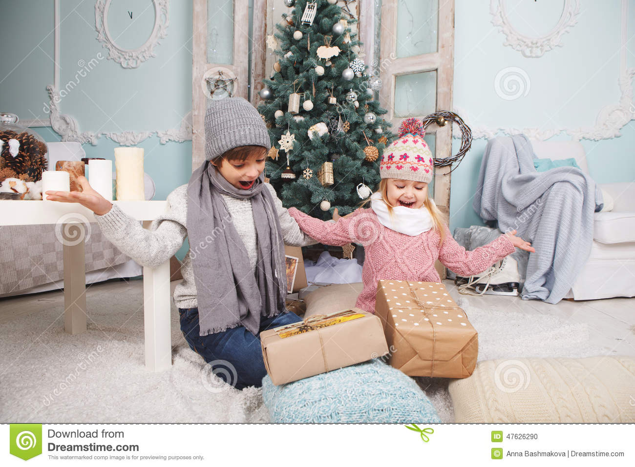 Children are happy Gifts