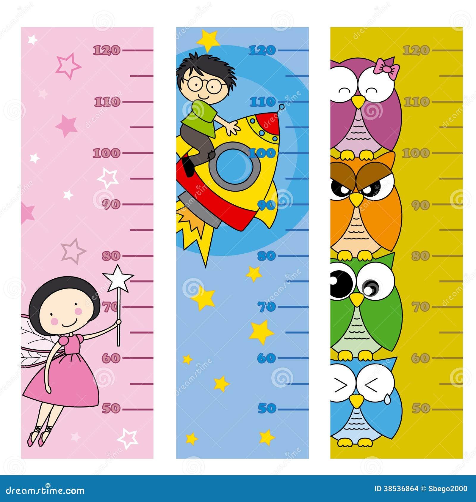 Children Height Meter Stock Images Image 38536864