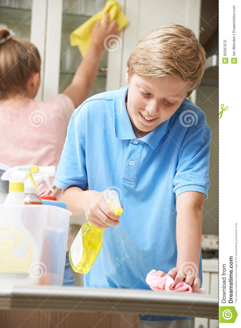 children cleaning - photo #18