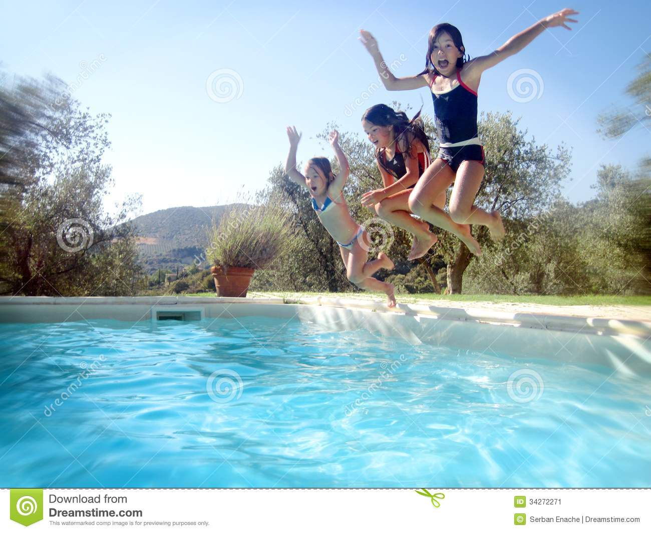 Summer time stock image image of blue happiness playful for Pool time pools