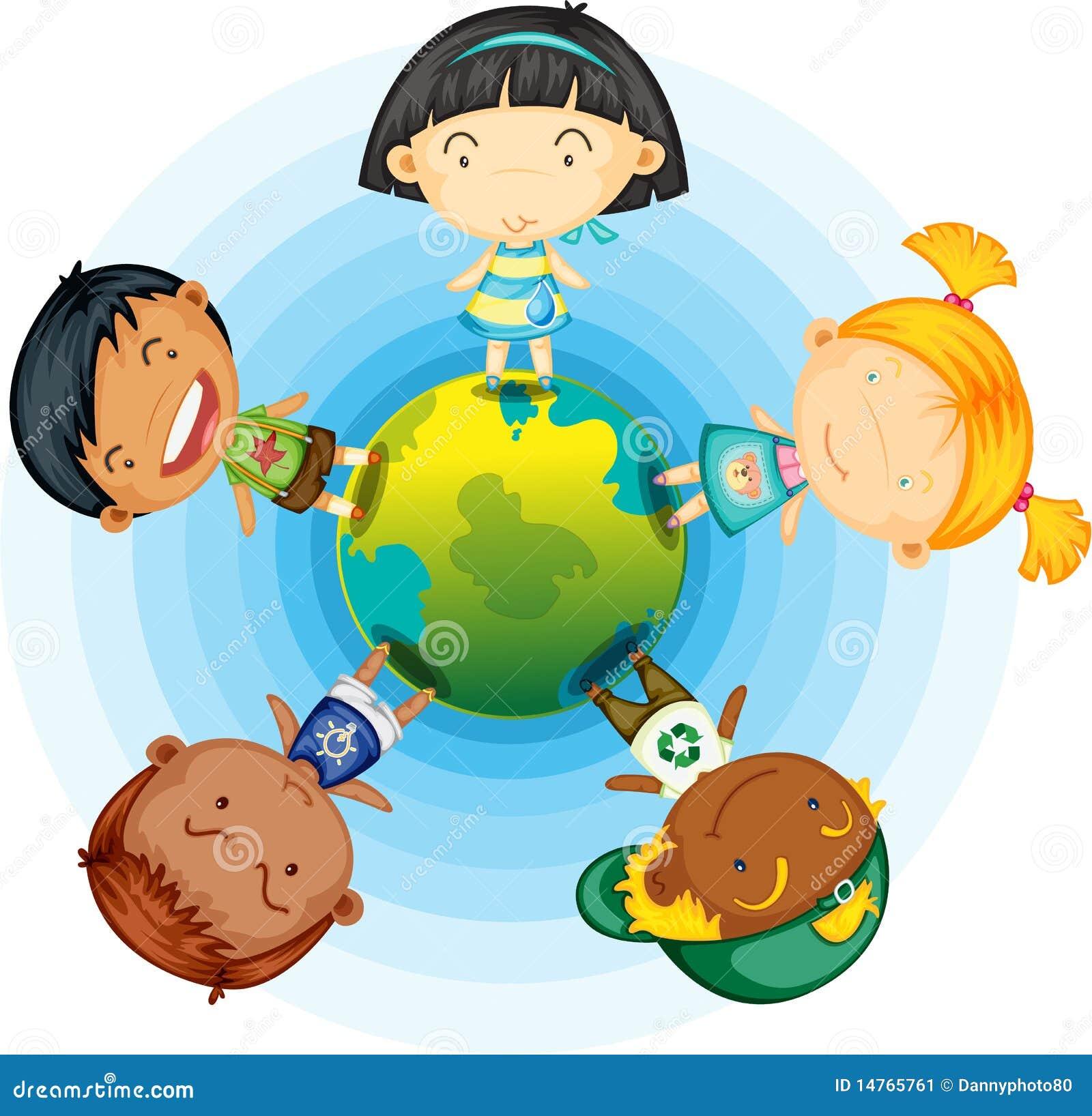 Children kuli ziemskiej pozycja