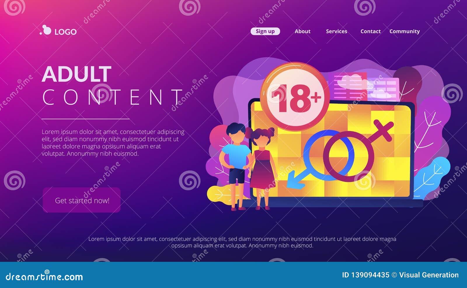 Adult content web