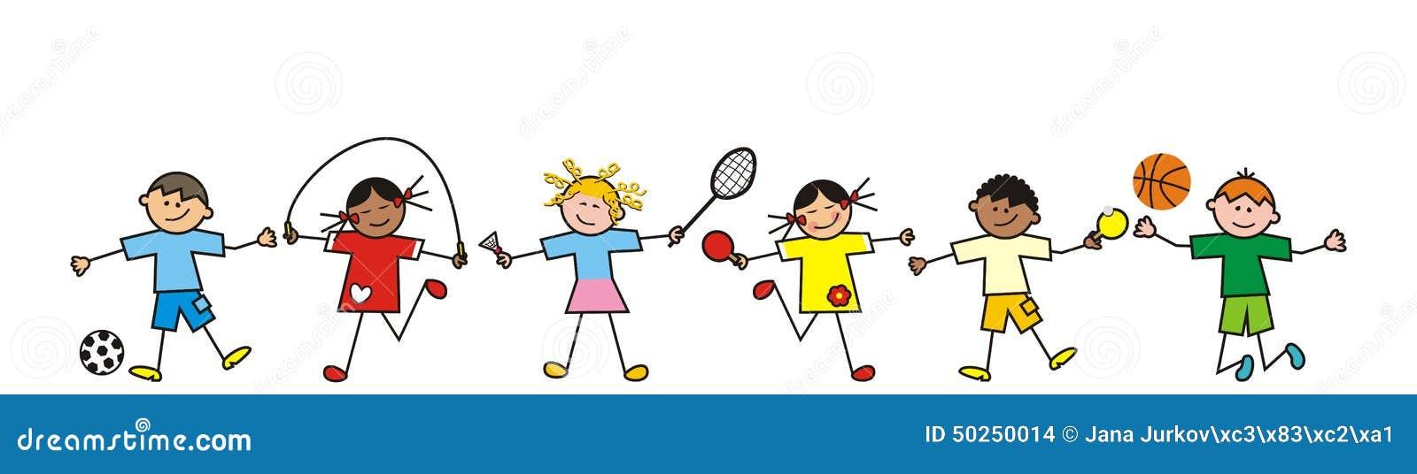 Set Of Cartoon Childrens Faces Stock Vector Art More: Children, Line Stock Vector