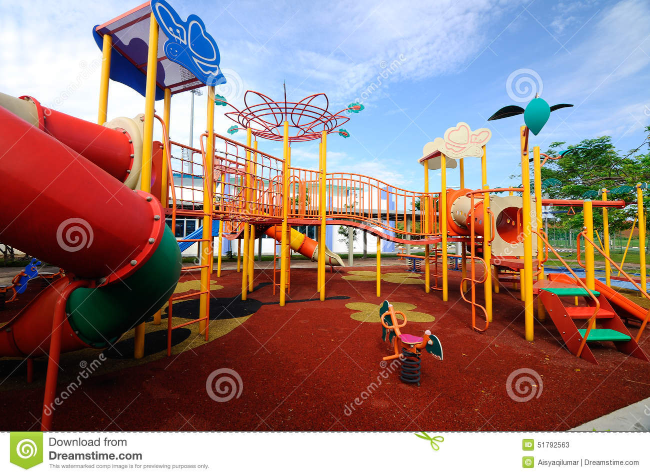 Children Outdoor Playground In Selangor, Malaysia. Climb, Recreation.