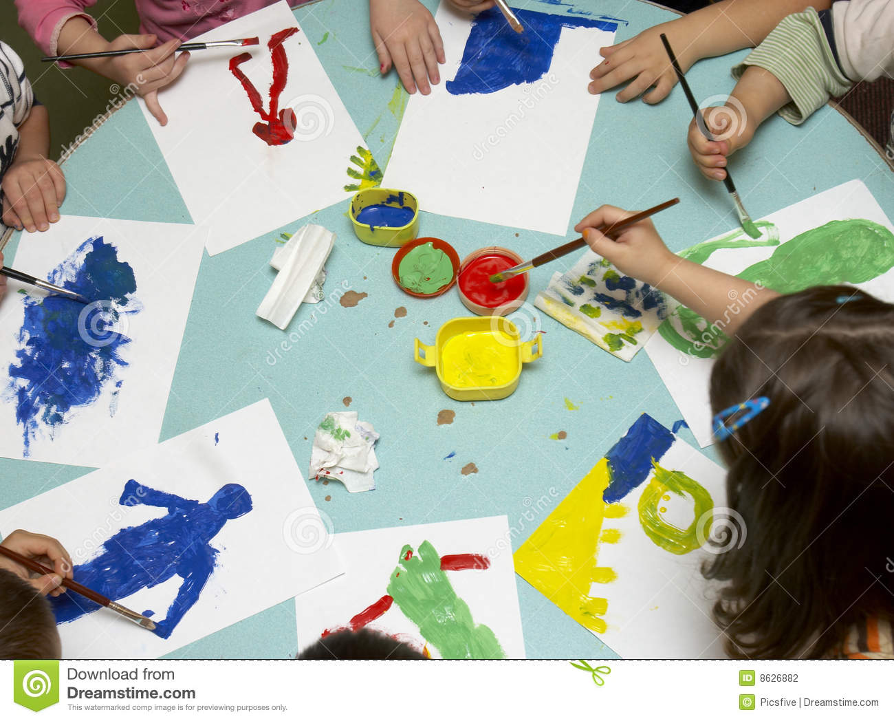 children painting - Children Painting Images